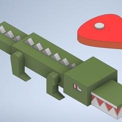 coco.jpg Download STL file crocodile and food • 3D printable model, emilianobolanos