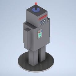 robot.jpg Download STL file classic robot • 3D print model, emilianobolanos
