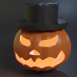 Screenshot_1.png Download STL file HALLOWEEN PUMPKIN • 3D printer template, JUANSEGURA98