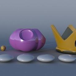bowsette crown.jpg Download STL file Bowsette Crown • 3D printable object, forgeeks