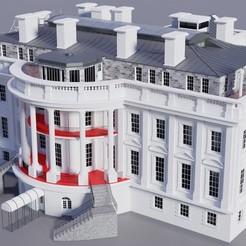 white_house_1.jpg Télécharger fichier STL La Maison Blanche • Modèle pour imprimante 3D, caldeira1980