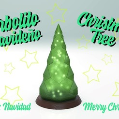 Recurso 3-100.jpg Download STL file Christmas Tree Lamp • 3D print model, emihpp333