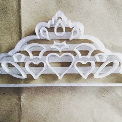 121543591_148541850284001_122172819919639770_o.jpg Download OBJ file Princess Crown • 3D printing template, LaberinthOrchid