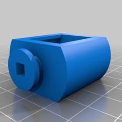 ac6ac0fe638d4e7fbd24e76fd5e3847d.png Télécharger fichier STL gratuit Tonneau de store de fenêtre de 2 pouces • Design pour impression 3D, tjwittkop