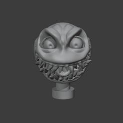 Hellmoji.PNG Télécharger fichier STL Smiley Hellmoji • Design à imprimer en 3D, asininedave