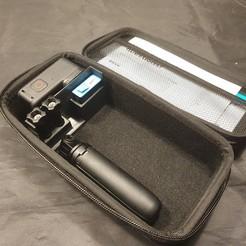 20201010_194916.jpg Download free STL file Gopro Hero 9 included case divider - camera protector  • 3D printable template, eski79