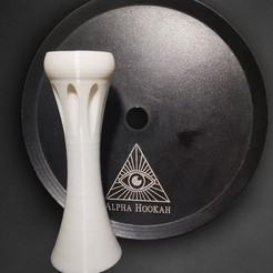 WhatsApp Image 2020-10-10 at 15.34.10 - copia.jpg Download STL file Anti Alpha Hookah Cachimba • 3D printer object, MrChette