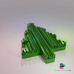 Preview01.jpg Télécharger fichier STL Forme des mots en 3D - Joyeux Noël • Plan imprimable en 3D, pandoranium3d