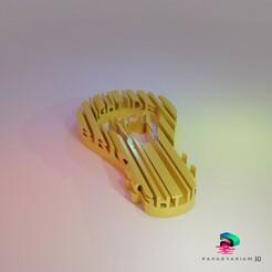 Preview01.jpg Télécharger fichier STL Forme des mots en 3D - Idées lumineuses • Plan imprimable en 3D, pandoranium3d