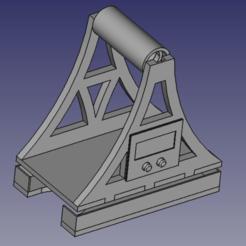 CAD.png Télécharger fichier STL Porte-bobine avec échelle intégrée • Objet à imprimer en 3D, Mattr