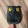 Download STL file Owl - Wall Key Holder • 3D printing model, sparki0007
