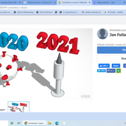 Captura.PNG Download free STL file coronavirus and vaccine • 3D printer template, jff2