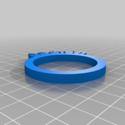9a406b359f41c2d53bd81326e0b484b2.png Download free STL file Jasmin Personalized Napkin Rings • Template to 3D print, frenchy3736249