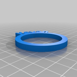 79d5290e7a3091b2a913ff4021cf0783.png Download free STL file Kevan Personalized Napkin Rings • 3D print design, frenchy3736249