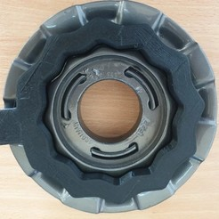 12pt BBS RC center cap wrench (Small Handle).jpg Download free STL file 12pt BBS RC center cap wrench (Small Handle) - Audi/VW • 3D printer model, Mystrey2010