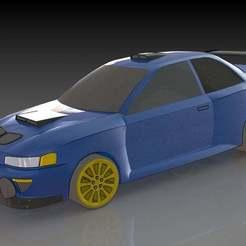 1.JPG Download free STL file Subaru Impreza WRX • 3D print object, pabloblgarcia