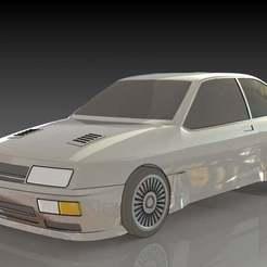 1.JPG Download free STL file Ford Sierra Cosworth • 3D print template, pabloblgarcia