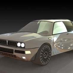 1.JPG Download free STL file Lancia Delta • 3D printer design, pabloblgarcia