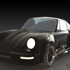 1.JPG Download free STL file Porsche 911 RS • 3D printable design, pabloblgarcia