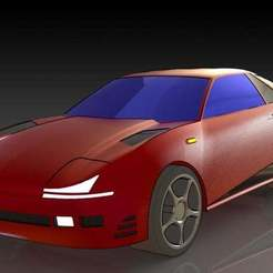 1.JPG Download free STL file Mitsubishi 3000 GT • 3D printer template, pabloblgarcia