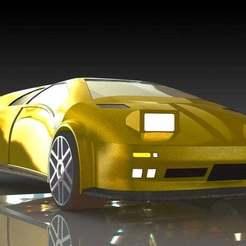 4.JPG Download free STL file Lamborghini Diablo • 3D printer template, pabloblgarcia