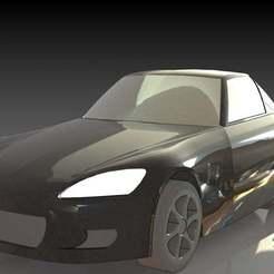 1.JPG Download free STL file Honda S2000 • Object to 3D print, pabloblgarcia
