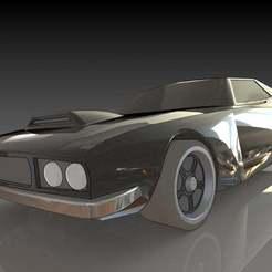 1.JPG Download free STL file Dodge Challenger • 3D printable design, pabloblgarcia
