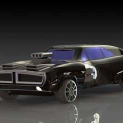 1.JPG Download free STL file Muscle car basado en Dodge Charger-Dodge Charger based muscle car • 3D print design, pabloblgarcia