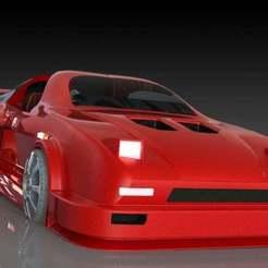 1.JPG Download free STL file Honda NSX-Honda NSX based sport car • 3D printing template, pabloblgarcia