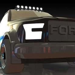 4.JPG Download free STL file Ford F 150 Raptor • 3D printable model, pabloblgarcia