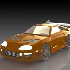 1.JPG Download free STL file Toyota Supra • 3D print object, pabloblgarcia