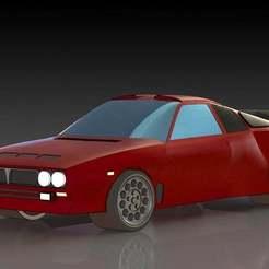 1.JPG Download free STL file Lancia 037 • 3D print template, pabloblgarcia