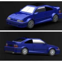 Render1.jpg Download free STL file Rover 200 Coupe Tomcat • 3D printing template, pabloblgarcia