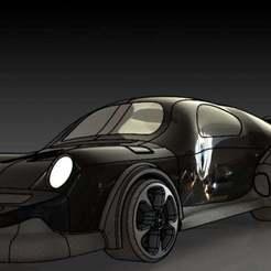2.JPG Download free STL file Porsche 911 based sport car • 3D printer object, pabloblgarcia