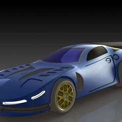 2.JPG Download free STL file Chevrolet Corvette C5 • 3D printable design, pabloblgarcia