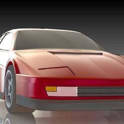 10.JPG Download free STL file Ferrari Testarossa • 3D printing template, pabloblgarcia