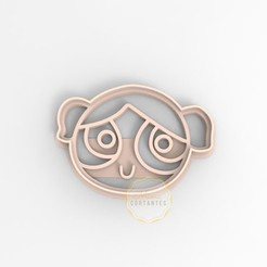 bur.jpg Download STL file COOKIE CUTTER POWERPUFF GIRLS BUBBLES • Object to 3D print, mimacortantes