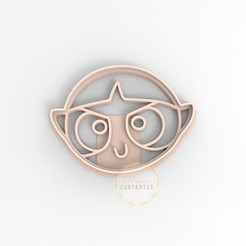 bell.jpg Download STL file COOKIE CUTTER POWERPUFF GIRLS BUTTERCUP/ SUPERPOWERED GIRLS • Object to 3D print, mimacortantes