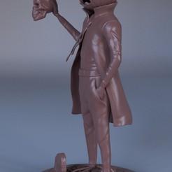 Renderclay.0001.jpeg Download STL file Pumpkin Lord • 3D printable template, azmalhossain