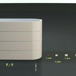 Tecpro Barrier 43.jpg Download STL file Tecpro Barrier 3D Print Model 1/43 Scale • 3D printing template, jd94