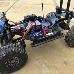 IMG_4560.jpg Download STL file Traxxas TRX4 Low Centre of Gravity (Low CG) Battery Tray  • 3D print object, GaminGit