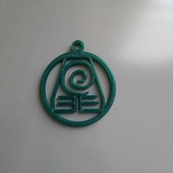 20201016_173702.jpg Download free 3MF file Earth Kingdom Keychain • Design to 3D print, VRstudio