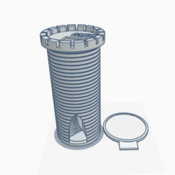Tower 1.png Download STL file Dice Tower • Template to 3D print, coal3D