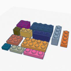 ALL BRICKS.png Télécharger fichier STL Ce n'est pas une brique LEGO • Design pour impression 3D, coal3D