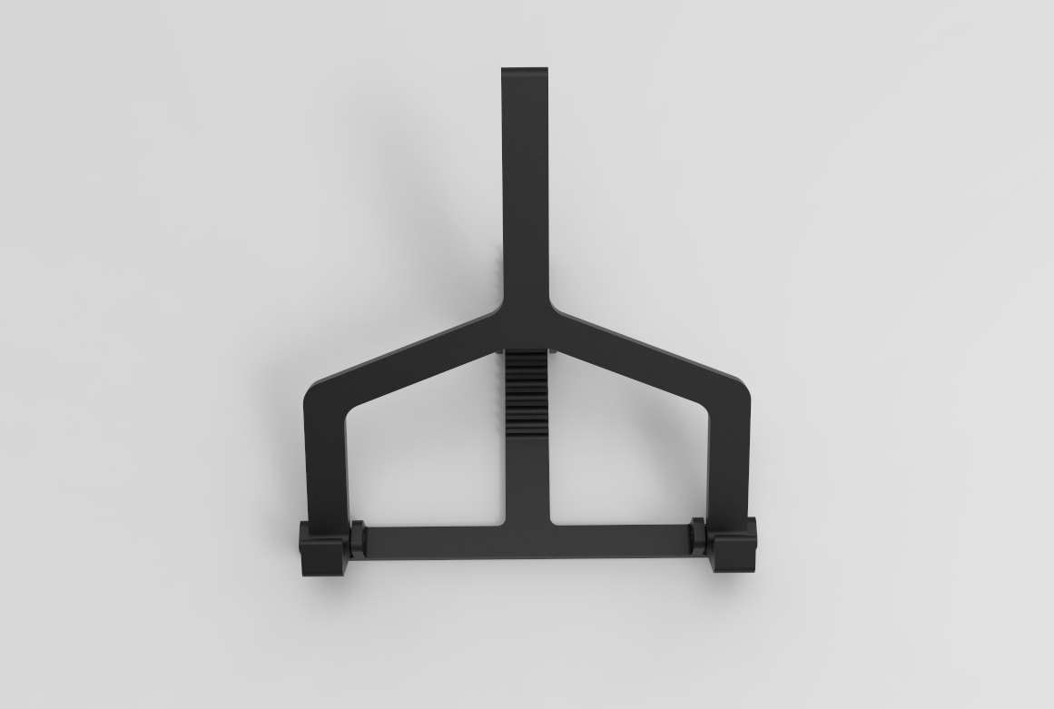 Laptophouder 4.jpg Download STL file Adjustable Laptop Stand • 3D printing object, R-Designs