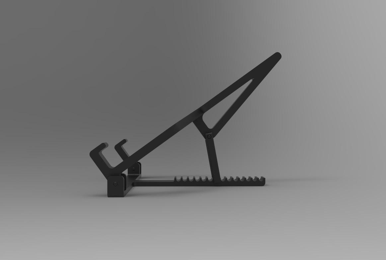 Laptophouder 3.jpg Download STL file Adjustable Laptop Stand • 3D printing object, R-Designs