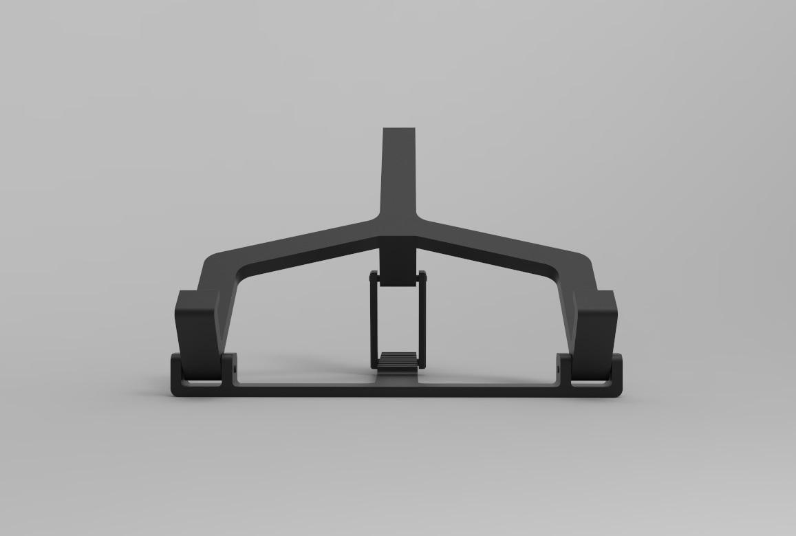 Laptophouder 2.jpg Download STL file Adjustable Laptop Stand • 3D printing object, R-Designs
