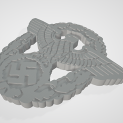 2.PNG Download STL file WW2 German Nazi Police Polizei Cap Badge Insignia • Design to 3D print, anonymous-1dcde162-cb7f-472e-be4c-70615a15a3e5