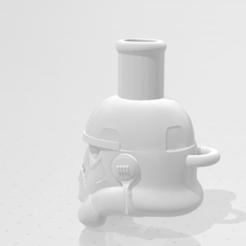 222.PNG Télécharger fichier STL stormtrooper cachimba, hookah, shisha. • Plan pour impression 3D, MoniolocoYT