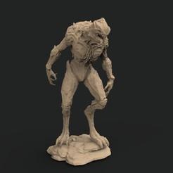 prowler.0.jpg Download STL file  Tool creature of doom game • 3D printing design, brhuw